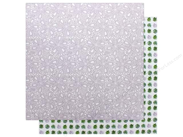 "Bo Bunny Collection Garden Party Paper 12""x 12"" Serenity (25 pieces)"