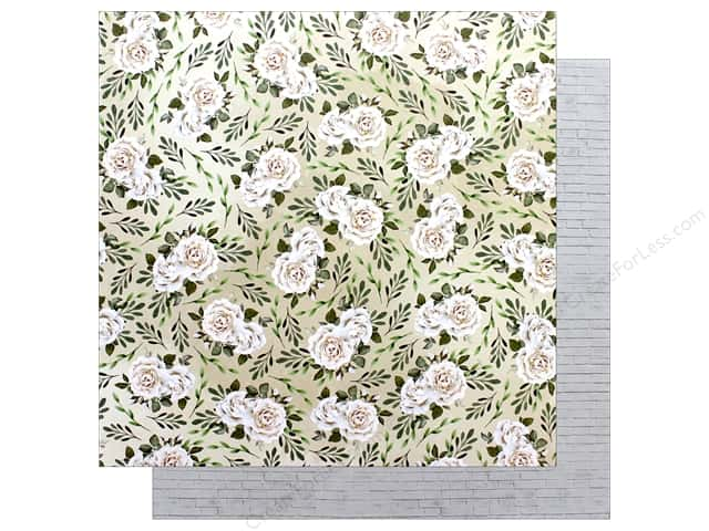 "Bo Bunny Collection Garden Party Paper 12""x 12"" Fragrant (25 pieces)"