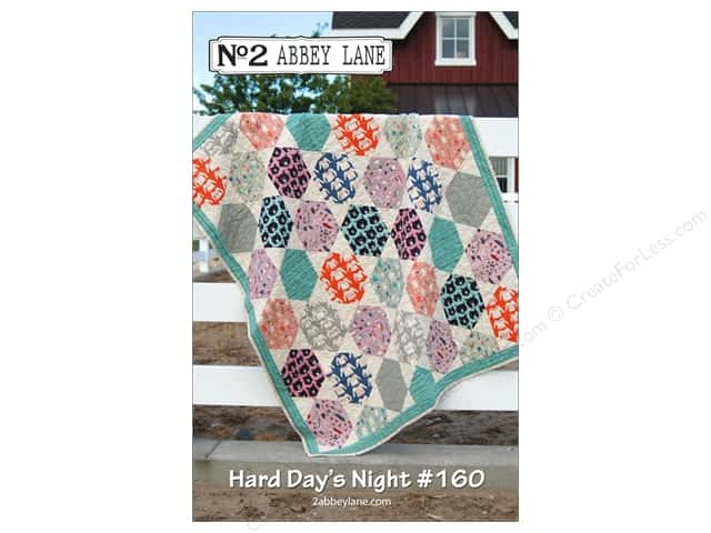 Abbey Lane Quilts Hard Day's Night Quilt Pattern