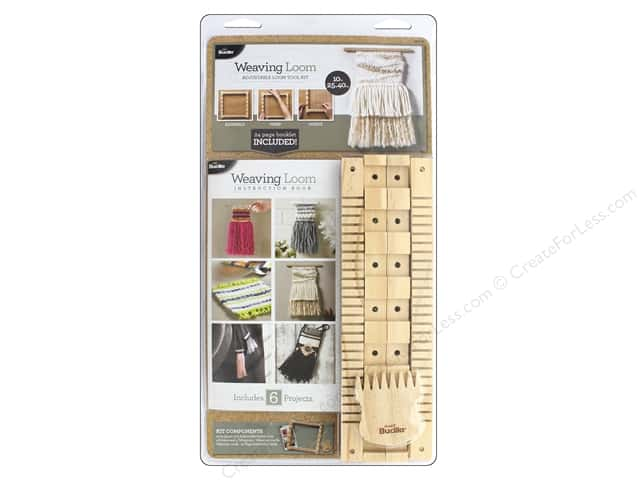 "Bucilla Kits Weaving Loom 16"" Adjustable"