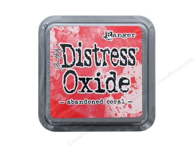 Ranger Tim Holtz Distress Ink Pad Oxide Abandoned Coral