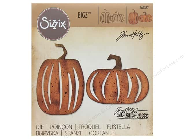 Sizzix Dies Tim Holtz Bigz Pumpkin Patch