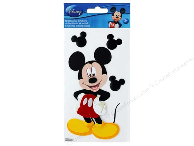 EK Disney Sticker Dimensional Mickey