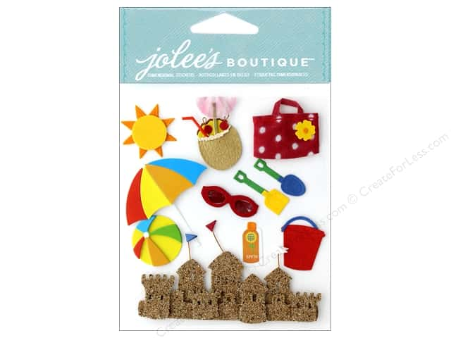 Jolee's Boutique Stickers Fun At The Beach