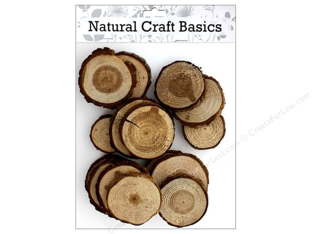 Sierra Pacific Crafts Wood Firewood Slices In A Bag