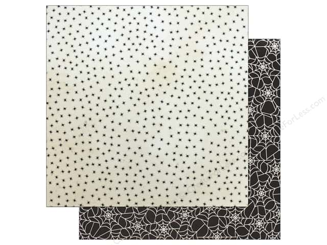 "Pebbles Collection Midnight Haunting Paper 12""x 12"" Creepy Crawly (25 pieces)"