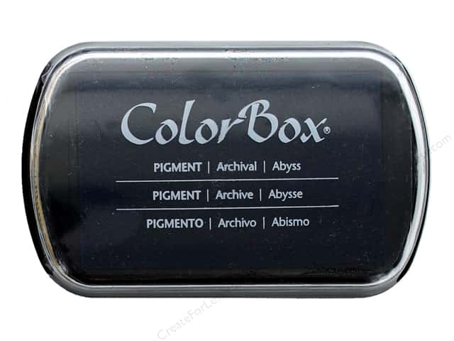 ColorBox Pigment Inkpad Full Size Abyss