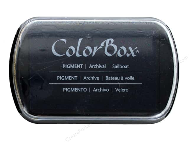 ColorBox Pigment Inkpad Full Size Sailboat