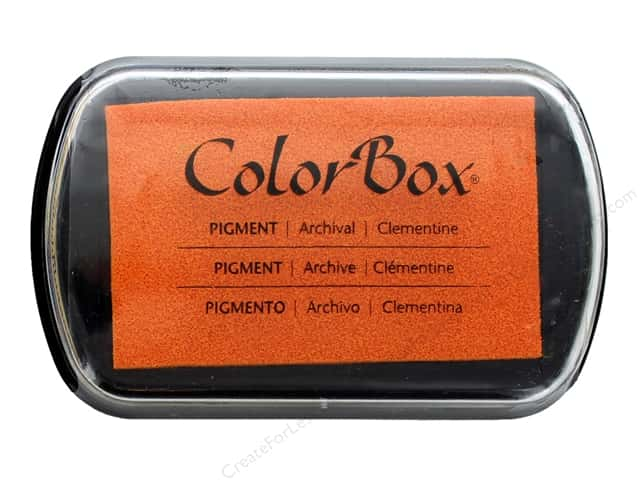 ColorBox Pigment Inkpad Full Size Clementine