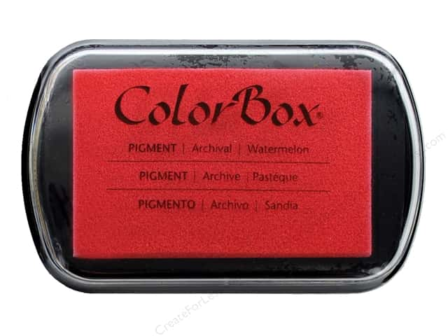 ColorBox Pigment Inkpad Full Size Watermelon