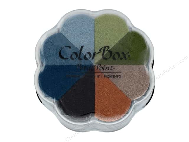 ColorBox Pigment Inkpad Petal Point Boardwalk