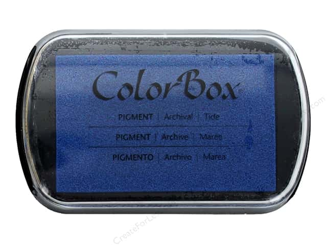 ColorBox Pigment Inkpad Full Size Tide