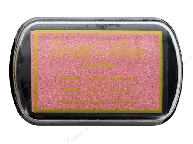 ColorBox Pigment Inkpad Full Size Teresa Collins Passion Pink