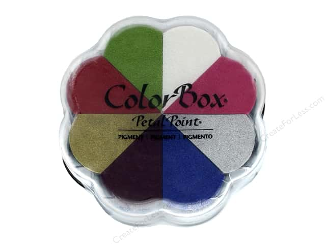 ColorBox Pigment Inkpad Petal Point Celebrate