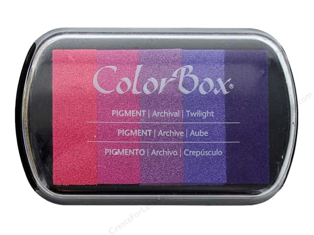 ColorBox Pigment Inkpad 5 Color Twilight