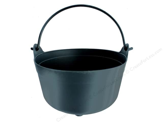 Darice Decor Halloween Cauldron 8.7 in.