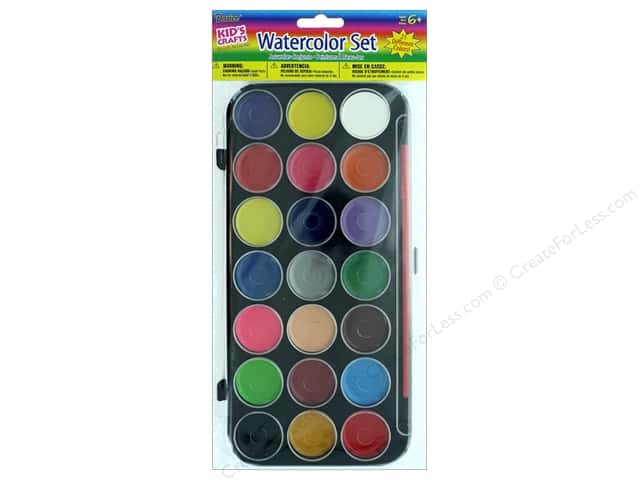 Darice Kids Watercolor Set 21 Colors