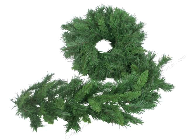 Darice Decor Christmas Garland Mix Pine 9ft 8""