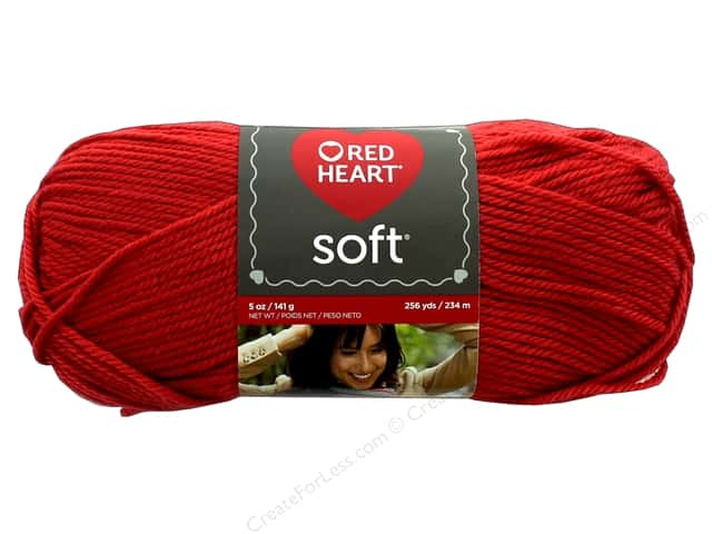 Red Heart Soft Yarn 256 yd. #9263 Cinnabar