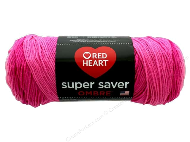 Red Heart Super Saver Yarn -- CreateForLess