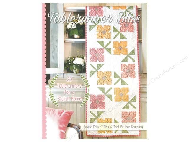 It's Sew Emma Tablerunner Bliss Book