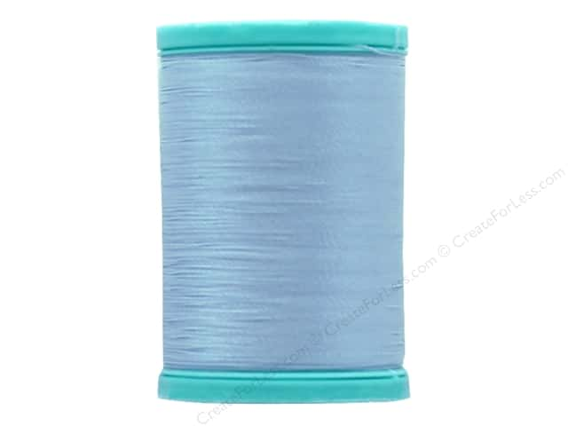 Coats & Clark Eloflex Stretchable Thread Icy Blue 225yd