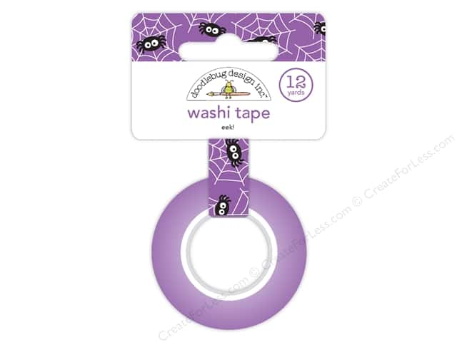 Doodlebug Booville Washi Tape EEK! (6 yards)
