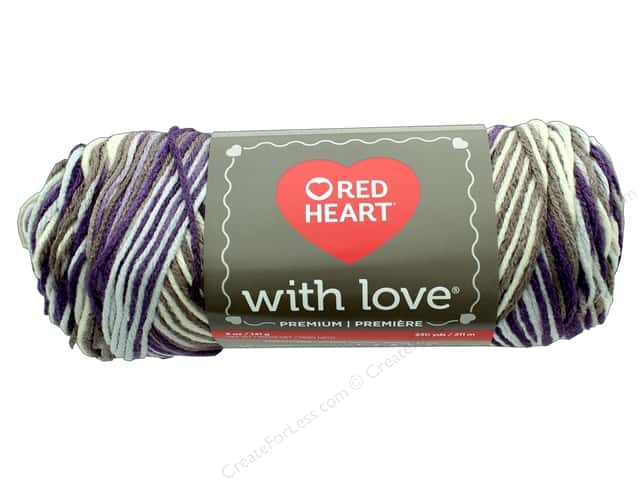 Red Heart With Love Yarn 230 yd. #1972 Renaissance