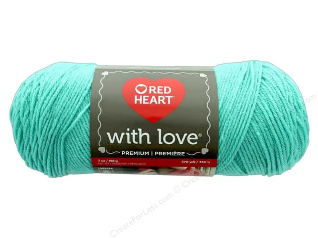 Red Heart With Love Yarn 370 yd. #1969 Wintergreen