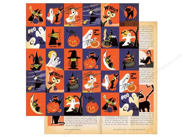 """Carta Bella Collection Haunted House Paper  12""""x 12"""" Journaling Cards (25 pieces)"""