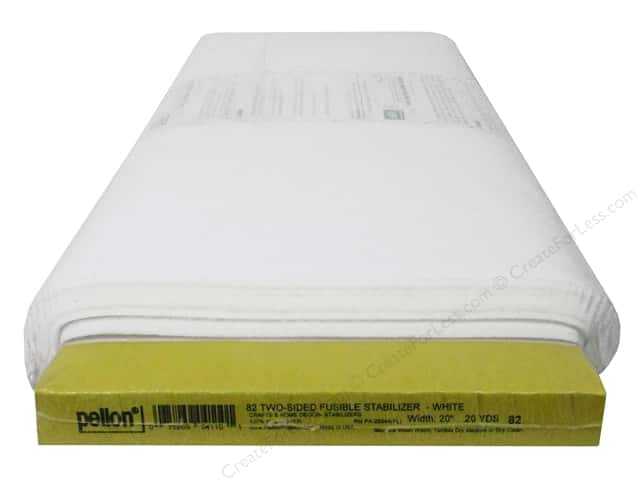 """Pellon Stabilizer Fusible Two Side 20""""x 20yd (20 yards)"""
