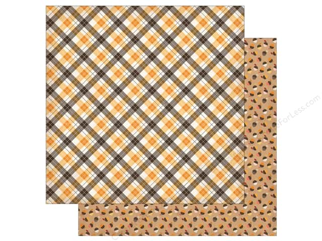 "Carta Bella Collection Hello Fall Paper 12""x 12"" Cozy Fall (25 pieces)"