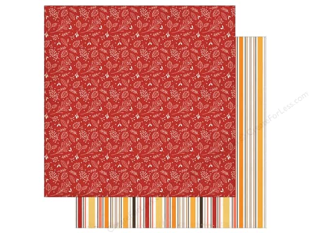 "Carta Bella Collection Hello Fall Paper 12""x 12"" Fall Foliage (25 pieces)"