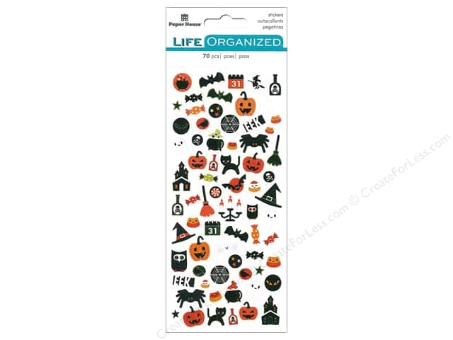 Paper House Life Organized Collection Sticker Micro Halloween