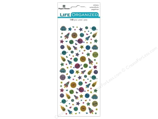 Paper House Collection Life Organized Sticker Micro Kawaii