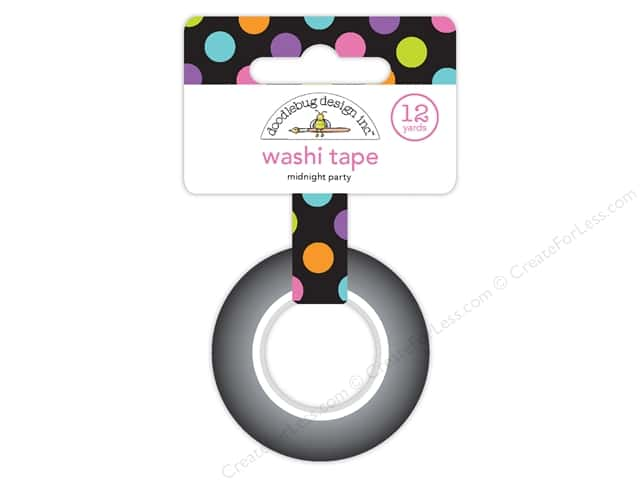 Doodlebug Booville Washi Tape Midnight Party (6 yards)