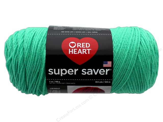 Red Heart Super Saver Yarn 364 yd. #1102 Freshmint