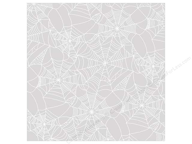 "Paper House Wicked Good Paper 12""x 12"" Acetate Cobwebs (15 pieces)"