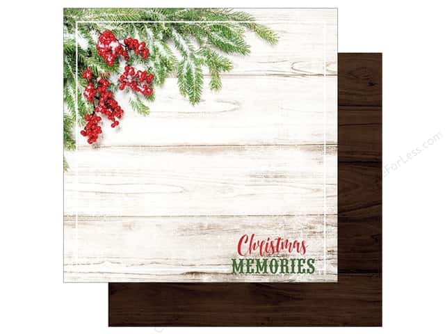 "Paper House Collection Christmas Joy Paper 12""x 12"" Memories (15 pieces)"