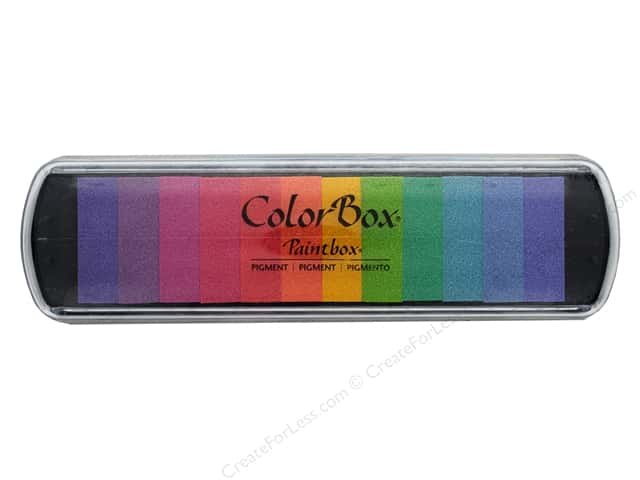 ColorBox Pigment Inkpad Paint Box Pastel