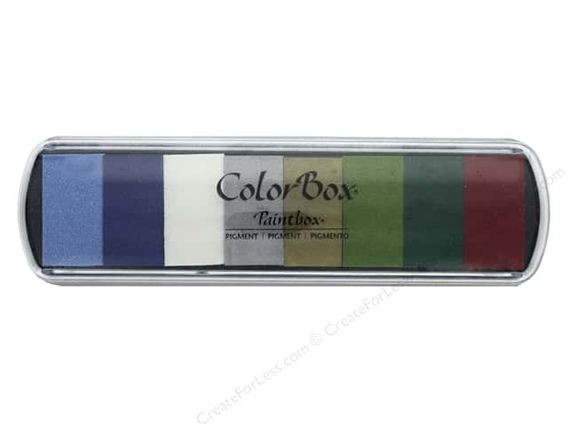 ColorBox Pigment Inkpad Paint Box Merry