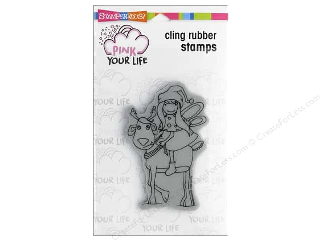 Stampendous Cling Rubber Stamp Whisper Friends Reindeer