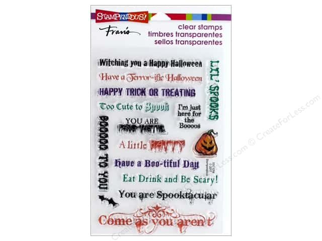 Stampendous Clear Stamp Spooky Wishes
