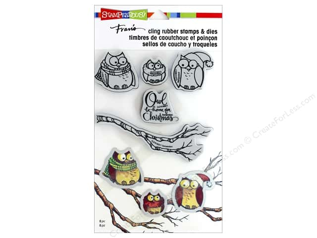 Stampendous Stamp & Die Set Owl Be Home