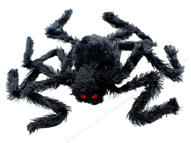 Sierra Pacific Crafts Decor Spider Small Bendable Legs Black