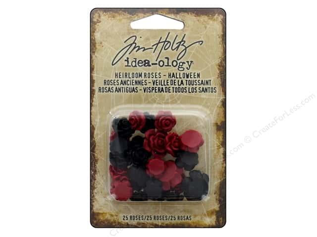 Tim Holtz Idea-ology Halloween Heirloom Roses