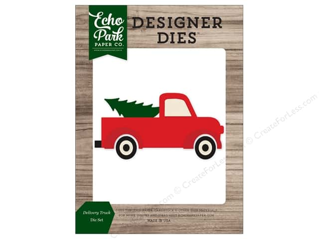Echo Park Collection Christmas Cheer Die Set Delivery Truck