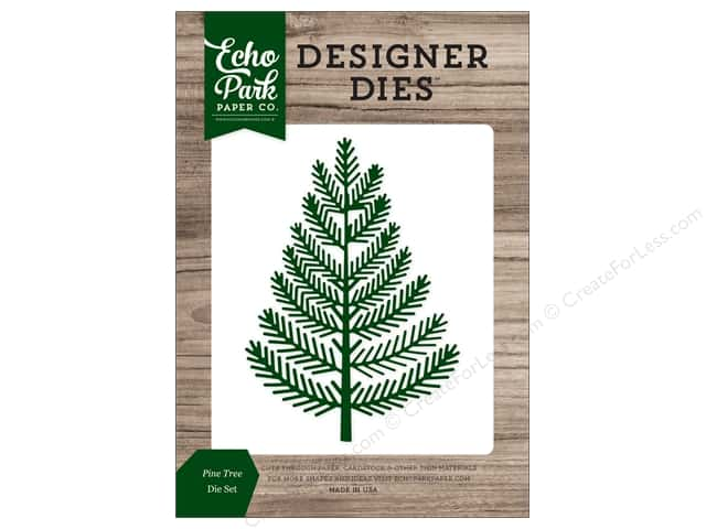 Echo Park Collection Christmas Cheer Die Set Pine Tree