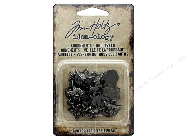 Tim Holtz Idea-ology Halloween Adornments