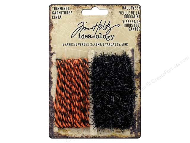 Tim Holtz Idea-ology Halloween Trimmings